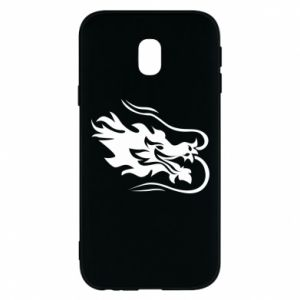 Phone case for Samsung J3 2017 Dragon with fire