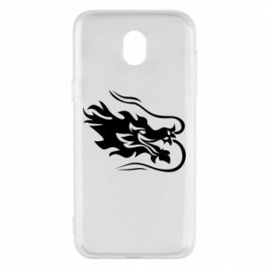 Phone case for Samsung J5 2017 Dragon with fire