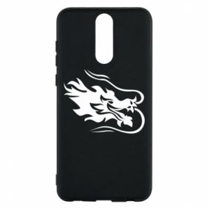 Phone case for Huawei Mate 10 Lite Dragon with fire