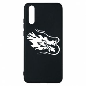 Phone case for Huawei P20 Dragon with fire