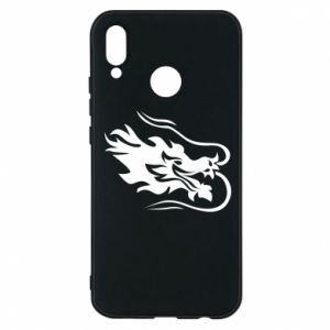 Phone case for Huawei P20 Lite Dragon with fire