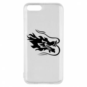Phone case for Xiaomi Mi6 Dragon with fire
