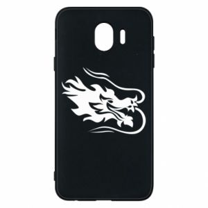 Phone case for Samsung J4 Dragon with fire