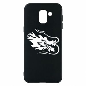 Phone case for Samsung J6 Dragon with fire