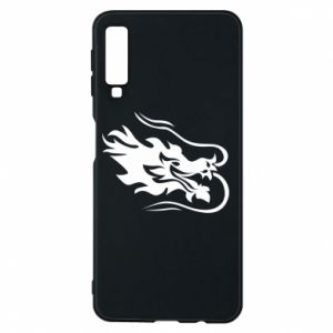 Phone case for Samsung A7 2018 Dragon with fire
