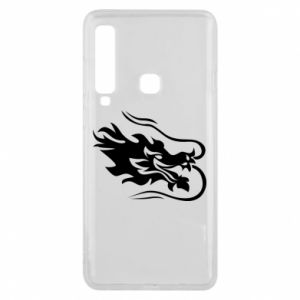 Phone case for Samsung A9 2018 Dragon with fire