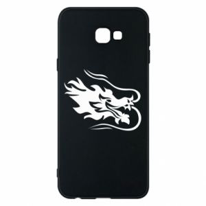 Phone case for Samsung J4 Plus 2018 Dragon with fire