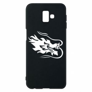 Phone case for Samsung J6 Plus 2018 Dragon with fire