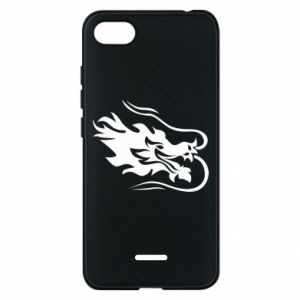 Phone case for Xiaomi Redmi 6A Dragon with fire