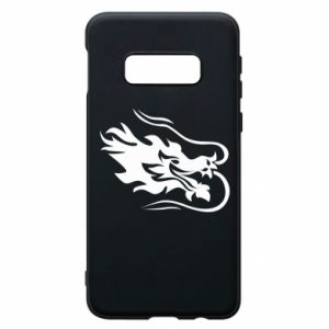 Phone case for Samsung S10e Dragon with fire