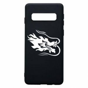 Phone case for Samsung S10 Dragon with fire
