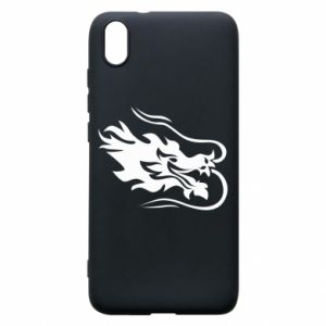 Phone case for Xiaomi Redmi 7A Dragon with fire