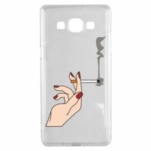 Etui na Samsung A5 2015 Smoking hand