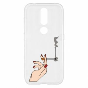 Etui na Nokia 4.2 Smoking hand
