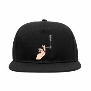 Snapback Smoking hand