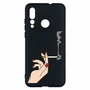 Etui na Huawei Nova 4 Smoking hand