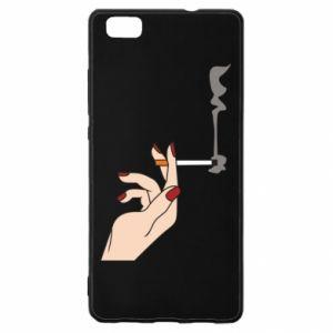 Etui na Huawei P 8 Lite Smoking hand