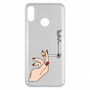 Etui na Huawei Y9 2019 Smoking hand