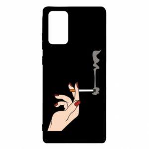 Etui na Samsung Note 20 Smoking hand