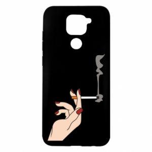 Etui na Xiaomi Redmi Note 9/Redmi 10X Smoking hand