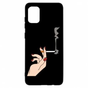 Etui na Samsung A31 Smoking hand