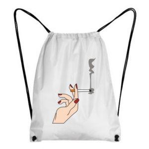 Plecak-worek Smoking hand