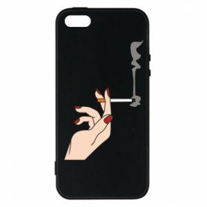 Etui na iPhone 5/5S/SE Smoking hand