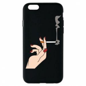 Etui na iPhone 6/6S Smoking hand
