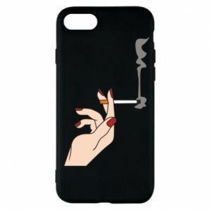 Etui na iPhone 7 Smoking hand