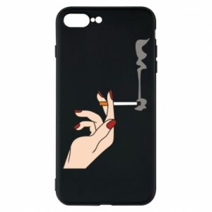 Etui na iPhone 8 Plus Smoking hand