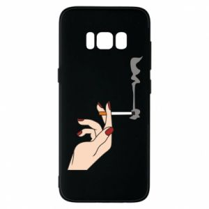 Etui na Samsung S8 Smoking hand