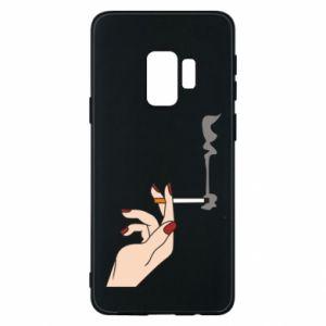 Etui na Samsung S9 Smoking hand
