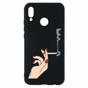 Etui na Huawei P20 Lite Smoking hand