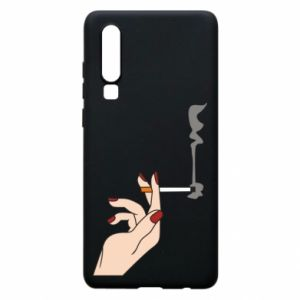 Etui na Huawei P30 Smoking hand