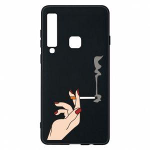 Etui na Samsung A9 2018 Smoking hand