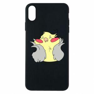 Etui na iPhone Xs Max Smug parrot