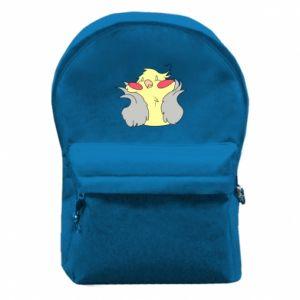 Plecak z przednią kieszenią Smug parrot