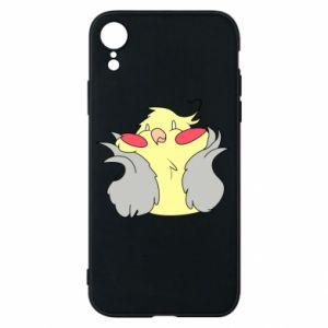 Etui na iPhone XR Smug parrot