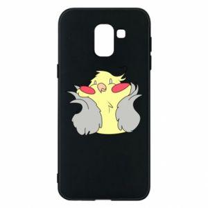Etui na Samsung J6 Smug parrot