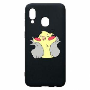 Etui na Samsung A40 Smug parrot