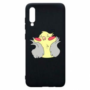 Etui na Samsung A70 Smug parrot