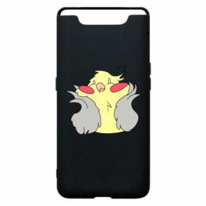 Etui na Samsung A80 Smug parrot