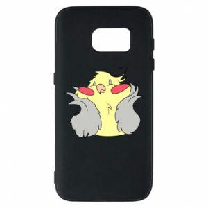 Etui na Samsung S7 Smug parrot