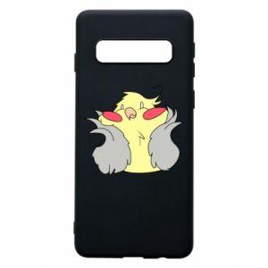 Etui na Samsung S10 Smug parrot