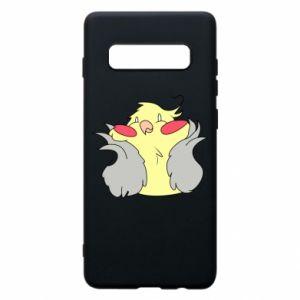 Etui na Samsung S10+ Smug parrot