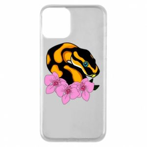Phone case for iPhone 11 Snake in flowers