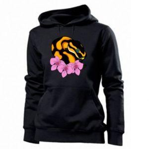 Bluza damska Snake in flowers
