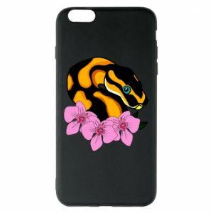 Etui na iPhone 6 Plus/6S Plus Snake in flowers