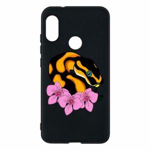 Etui na Mi A2 Lite Snake in flowers