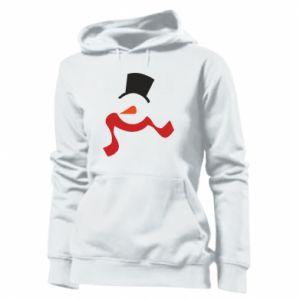 Damska bluza Snowman with a scarf